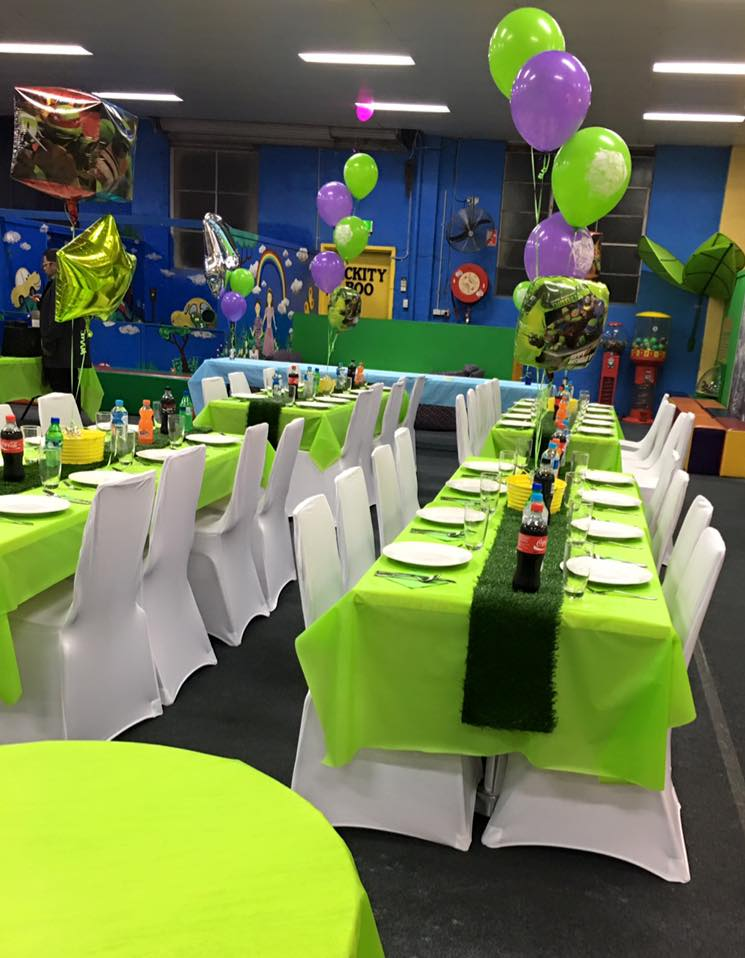 Ninja Turtle Themed Party