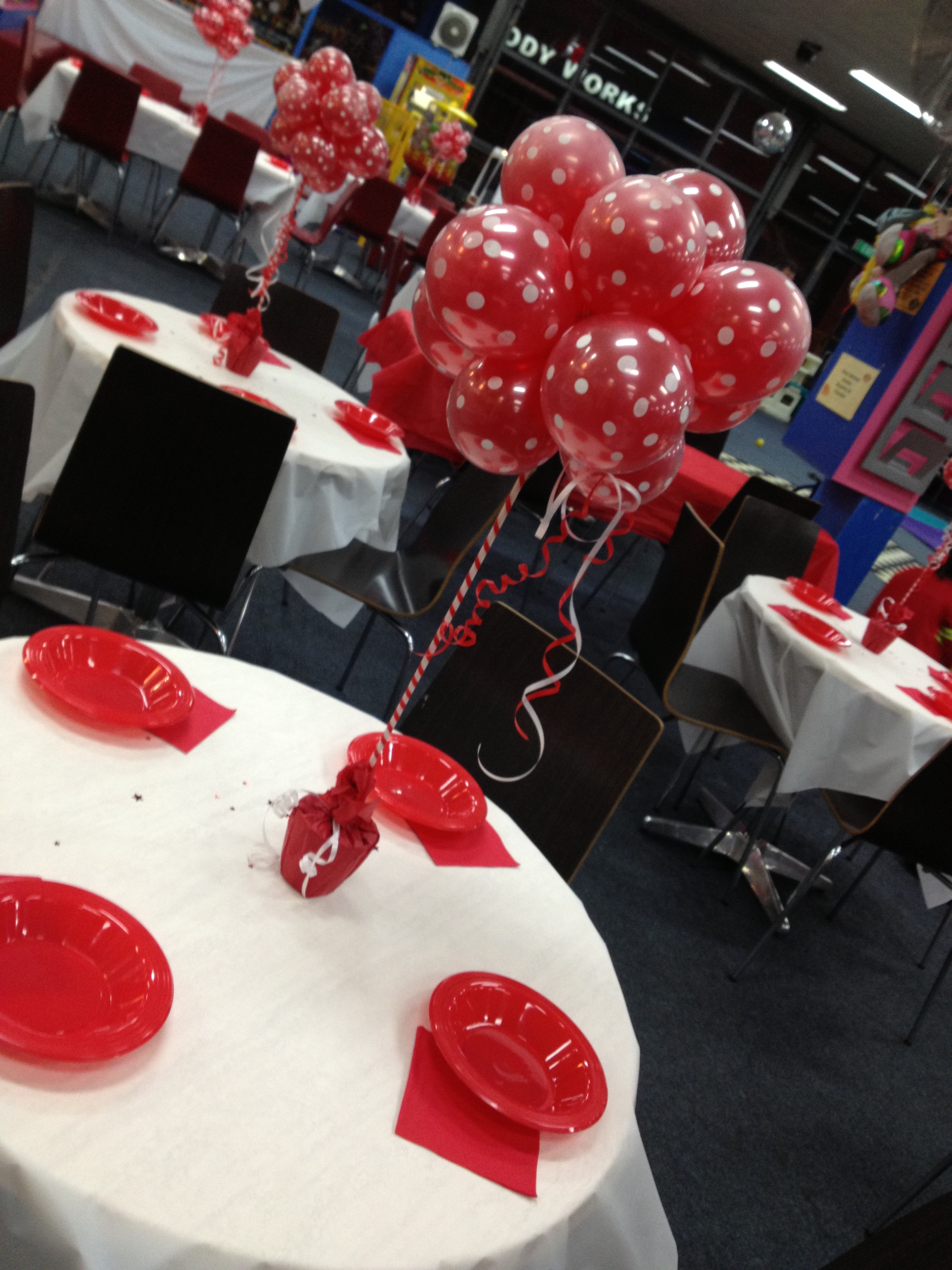 Fire Truck Party Table Seating