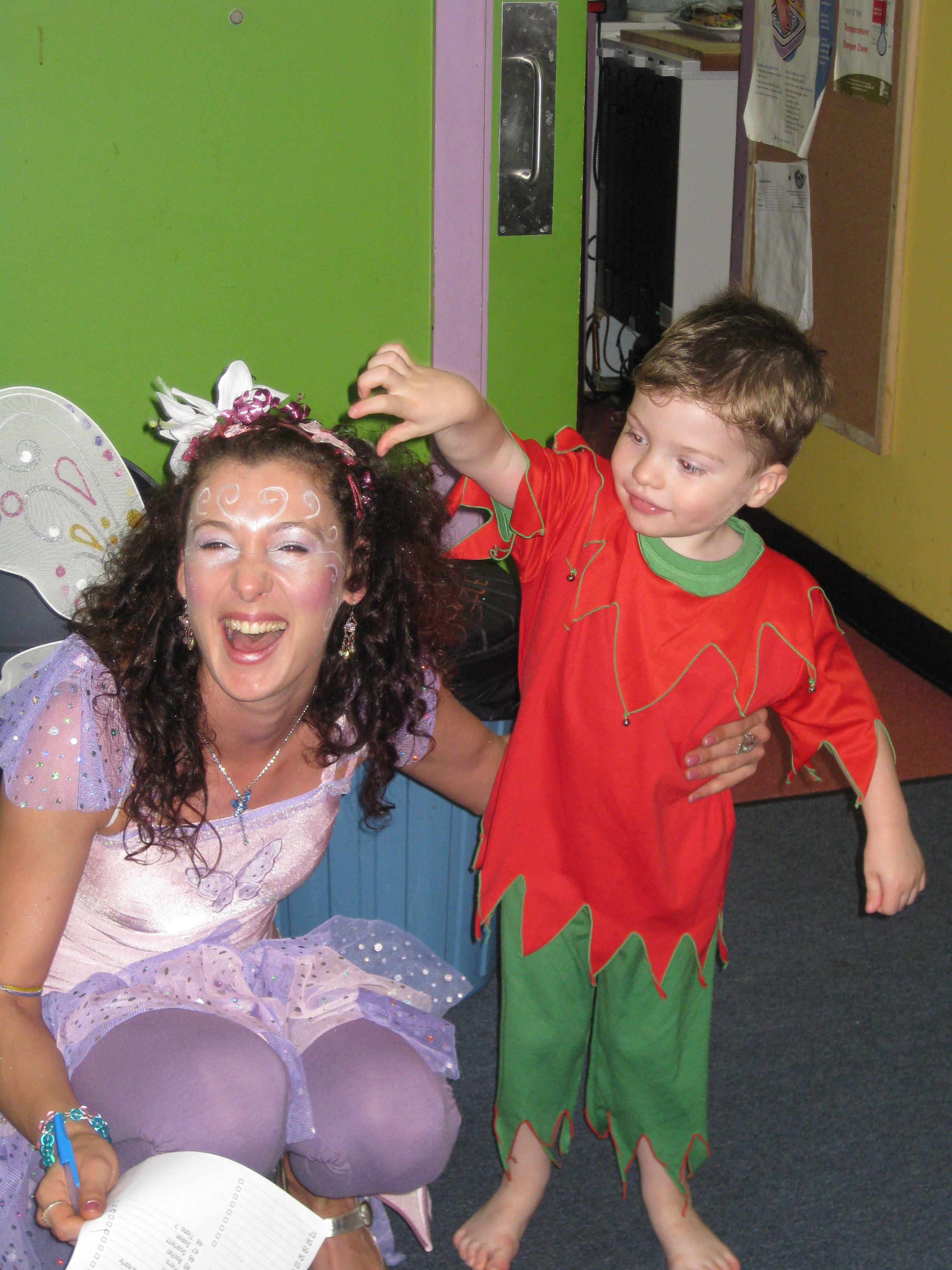 Fun with a fairy