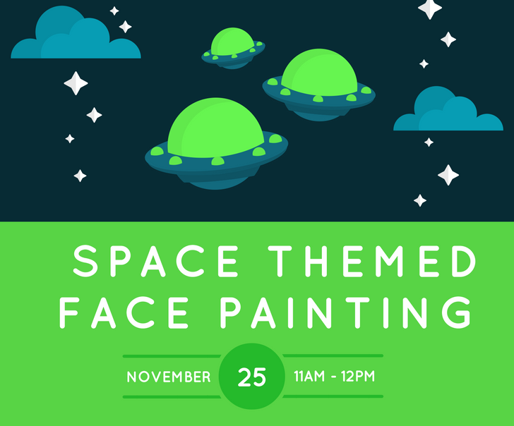 space face painting